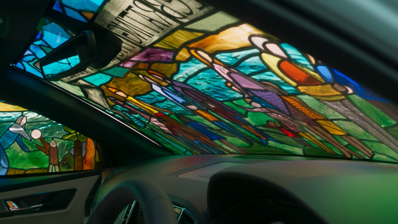 Skoda - Stained Glass