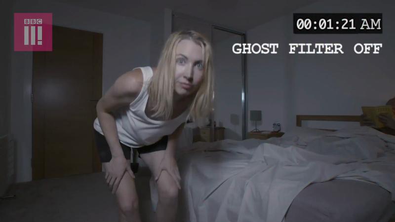 BBC Three - Ghost Filter