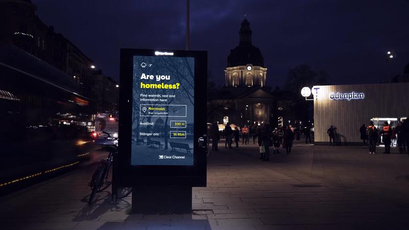 Clear Channel- Stockholm Billboard