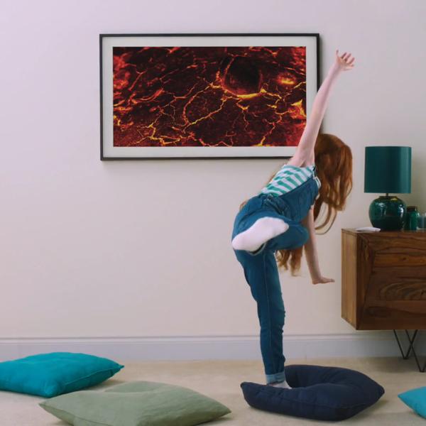 Samsung The Frame - Lava