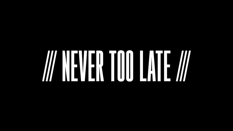 Adidas & Extra Butter - Never Too Late