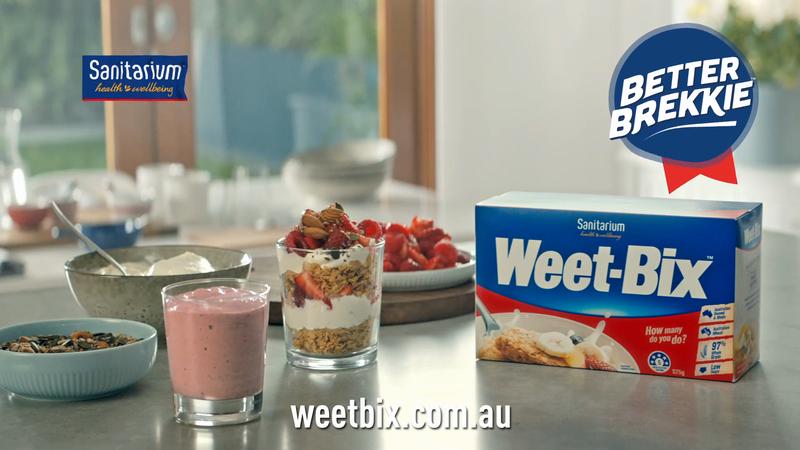 WEETBIX Better Brekkie Campaign