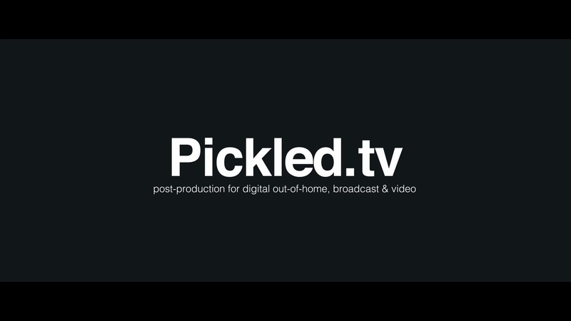 Pickled. Post Production Showreel