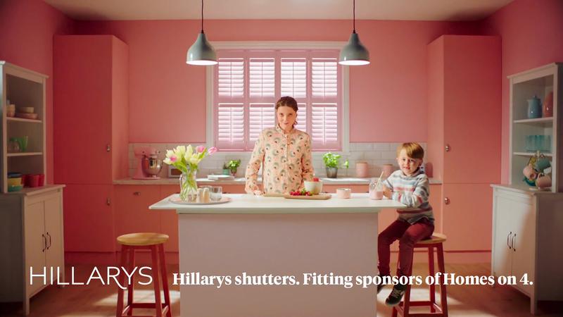Hillarys Sponsorship of Homes on 4 Idents