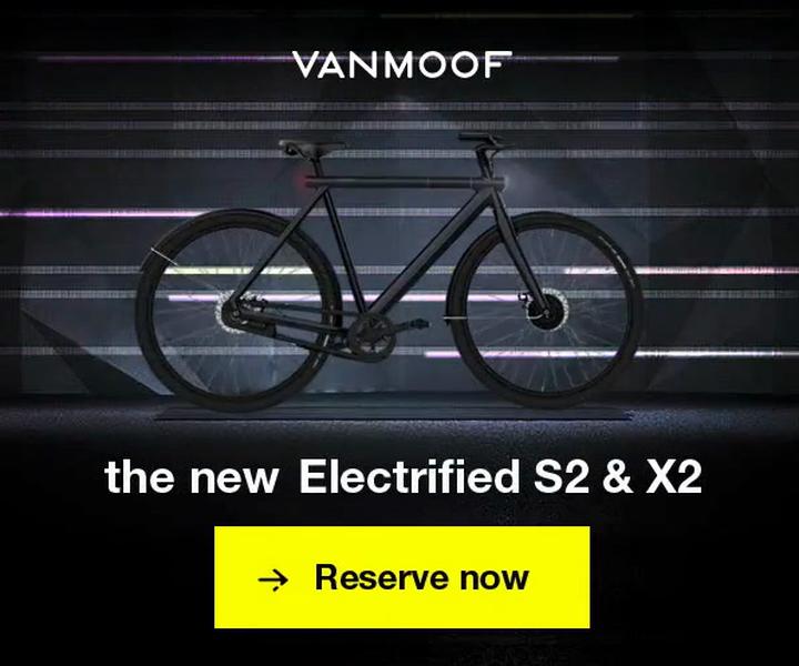 Vanmoof Electrified S2 & X2 | LBBOnline