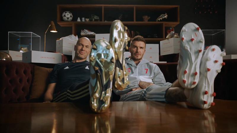 2ab4e5b11f2e Beckham and Zidane Play Judge in adidas  25 Years Of Predator ...