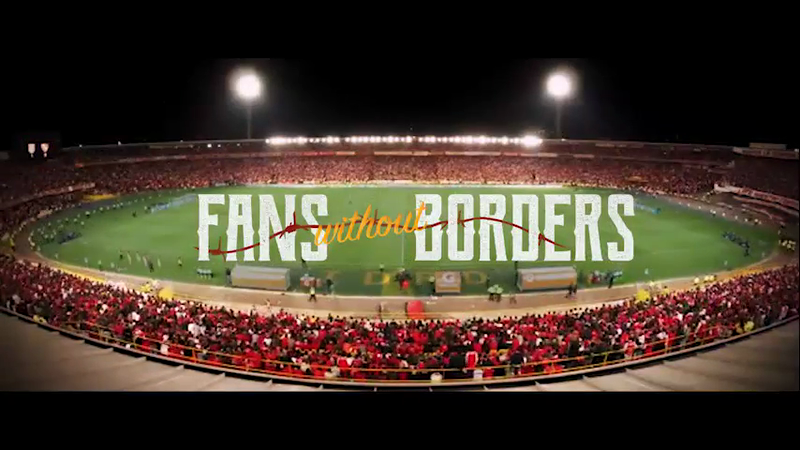 #FansWithoutBorders