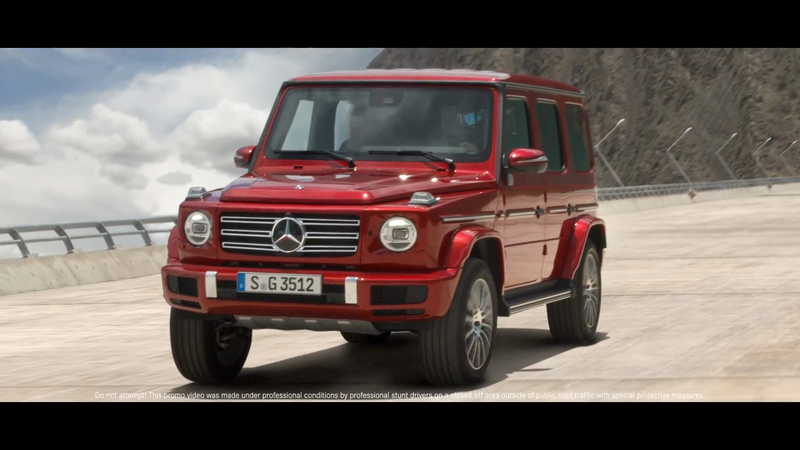 Mercedes Benz GClass - Gravity