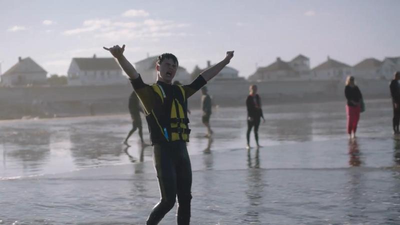 Dean Goes Surfing