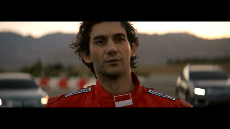 ACURA—Ayrton Senna: VFX face replacement