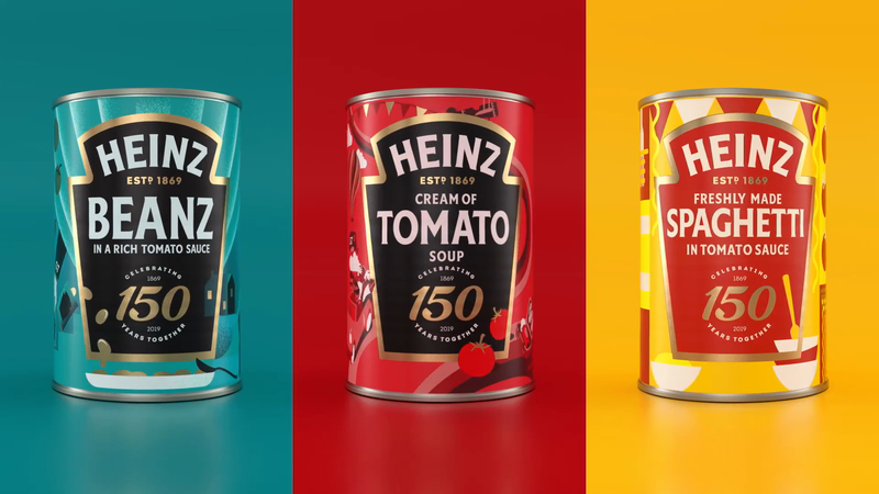 Heinz Redesigns Three Iconic Tins to Celebrate 150 Years | LBBOnline