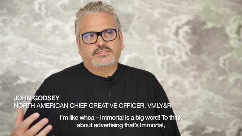 Defining Immortality - John Godsey, North American Chief Creative Officer, VMLY&R