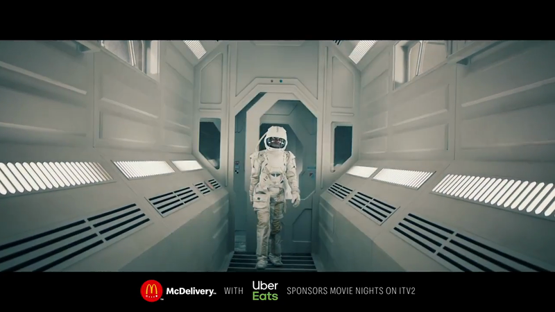 McDelivery Sponsorship Idents for Movie Nights on ITV
