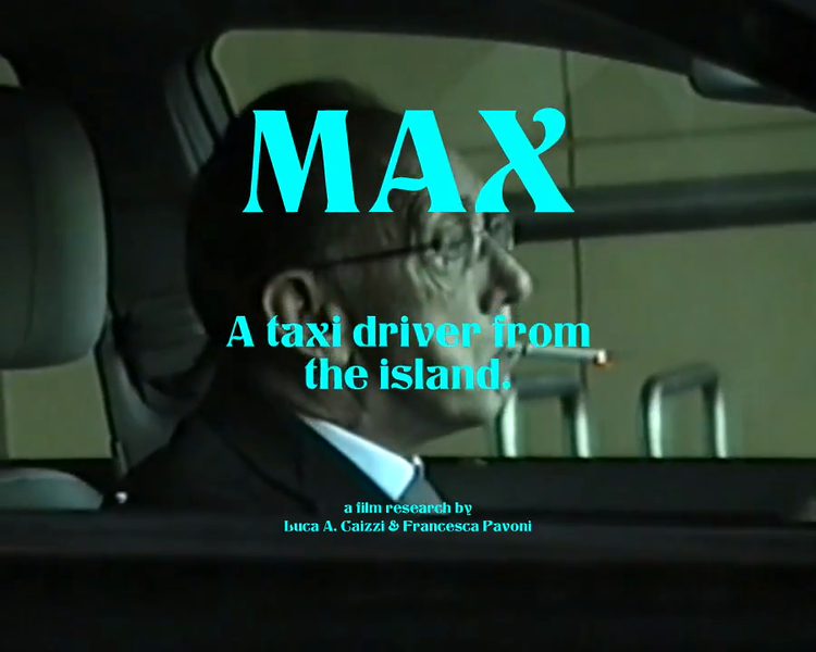 VFTS Max a taxi driver from the island