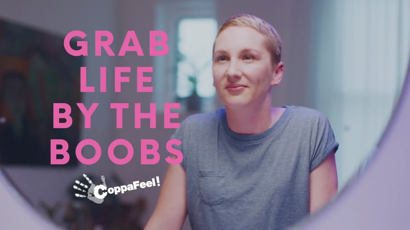 Coppafeel 'Grab Life By The Boobs'