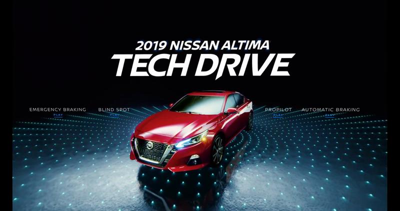 Nissan Tech Drive
