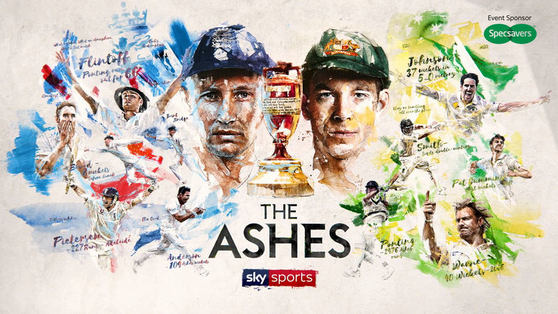 SKY SPORTS - THE MEN'S ASHES TITLES