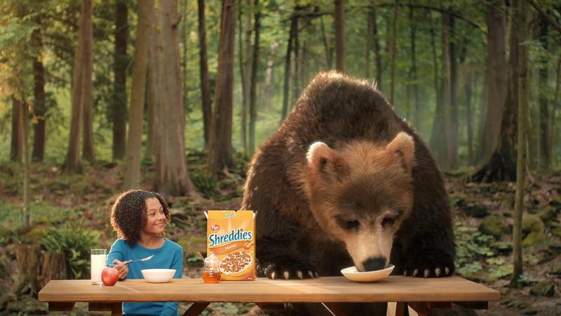 Shreddies | Sweet Bear (VFX Breakdown)