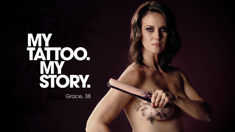 MyTatto.MyStory ghd Pink Campaign