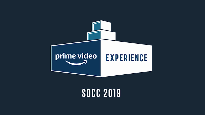 The Amazon Prime Video Experience at SDCC-support