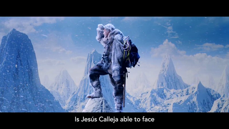 Adventurer Jesús Calleja Faces Everyday Problems in Spanish Health Insurance Ads