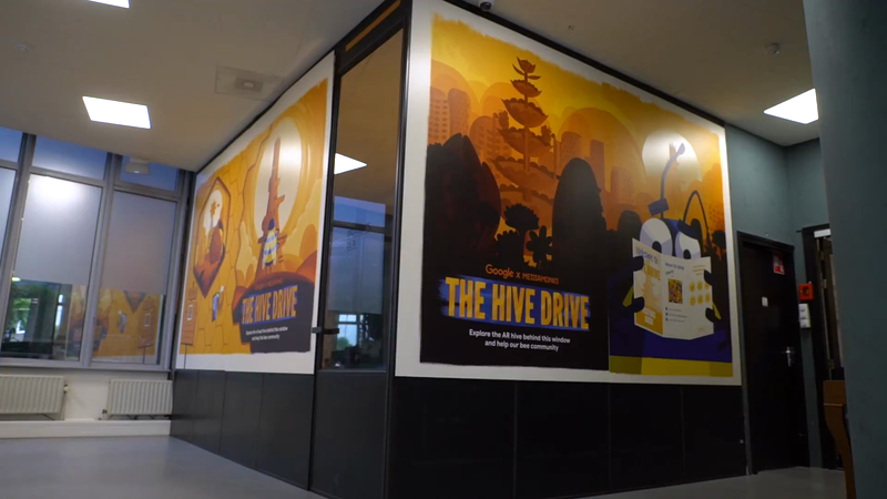 Hive Drive: Location-based AR Experience