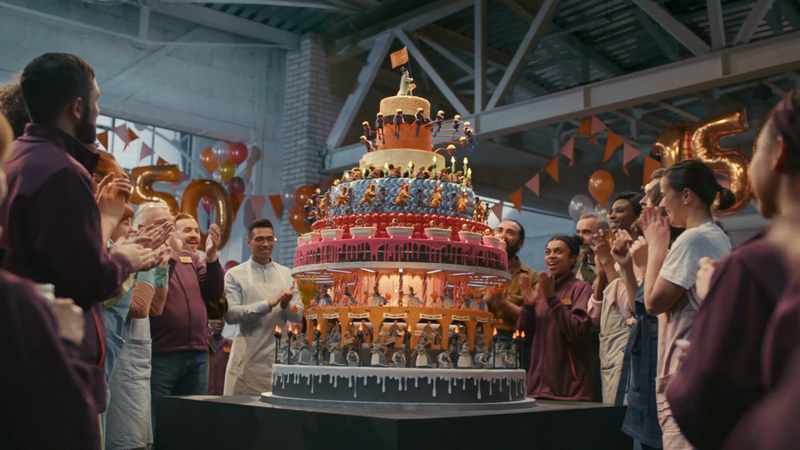 Sainsbury's - 150 Birthday Cake-support