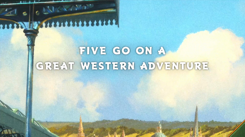 Great Western Adventure - Five & The Missing Jewels