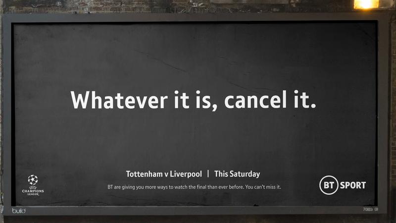 BT Sports - Whatever It Is, Cancel It
