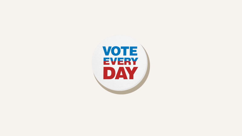 B Corp - Vote Every Day-support