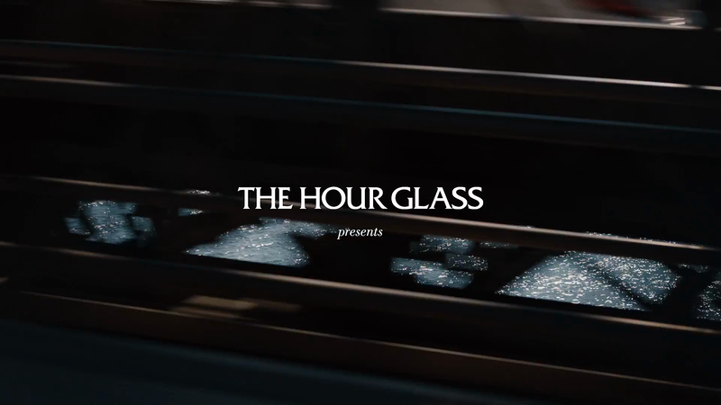THE HOUR GLASS - Daniel Arsham