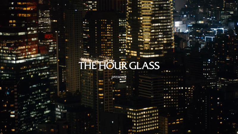 THE HOUR GLASS - Nendo