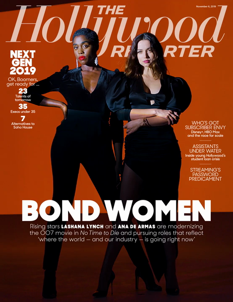 Bond Motion Cover - The Hollywood Reporter