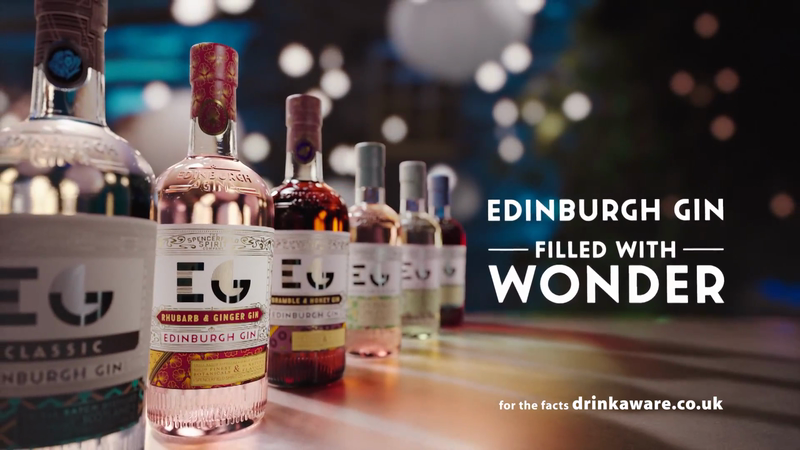 Edinburgh Gin - 'Filled With Wonder'