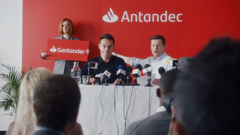 BANK OF ANTANDEC TACKLES  COPYRIGHT INFRINGEMENT CLAIM  IN NEW SANTANDER SPOT