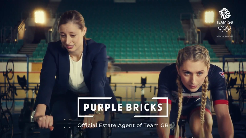 "Snap London - Purple Bricks ""Laura Kenny"""