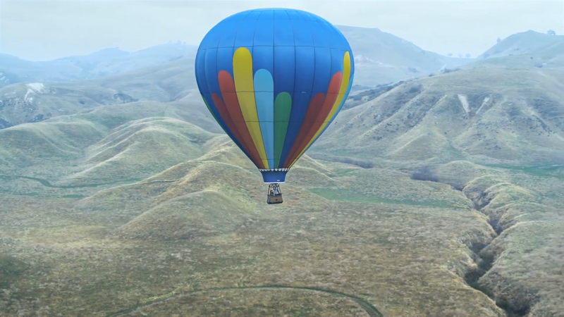 Yellow Boat Music: Ford - First Real Balloon Flight