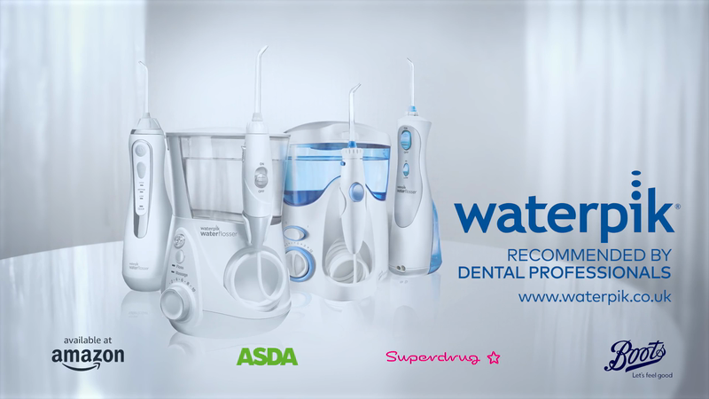 Transcreating US DRTV for the UK market for Waterpik