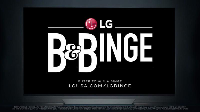 LG x Netflix