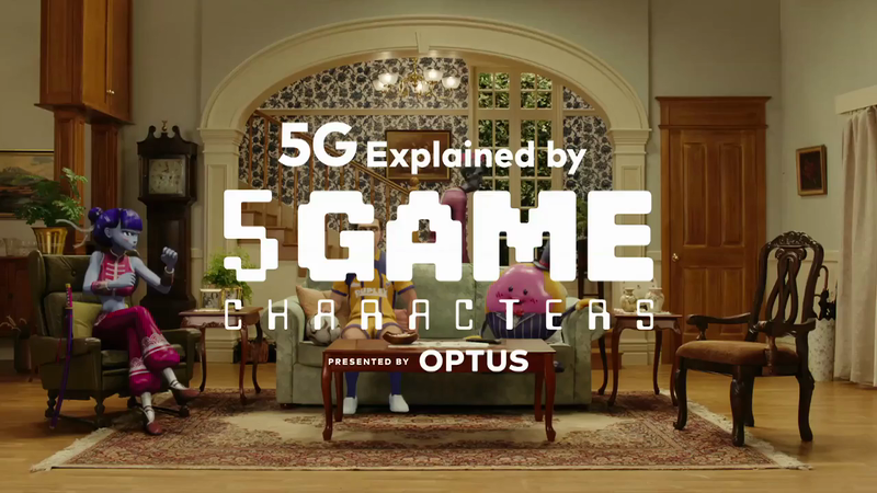Optus 5G - 5Game Characters