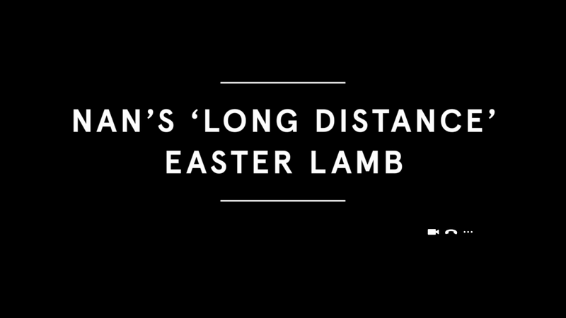Tesco 'Nan's Long Distance Easter Lamb'