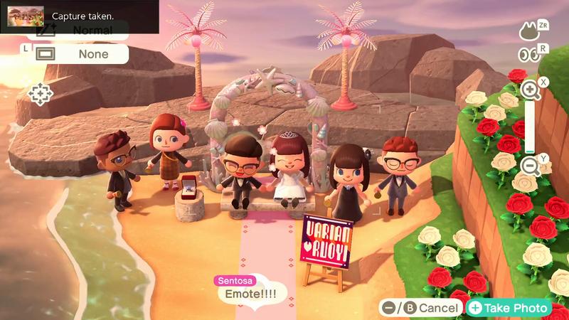 BBH Singapore - Animal Crossing Wedding Photos