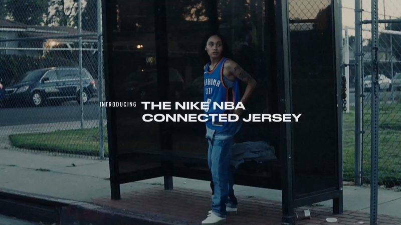Nike: NBA Connected Jersey
