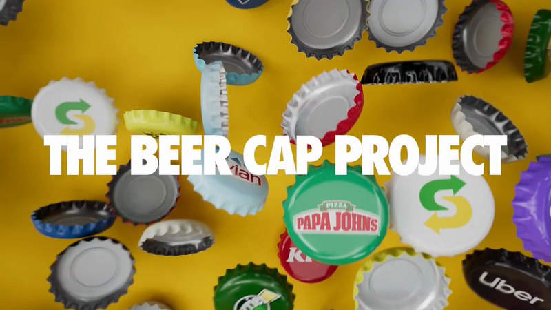 Aguila - The Beer Cap Project