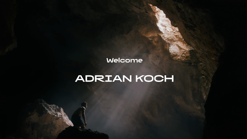 We're welcoming director Adrian Koch
