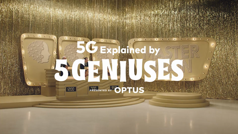 Optus - 5G. Now You Get It.