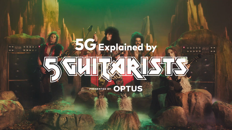 Optus 5G explained by 5Guitarists