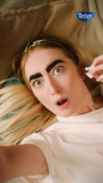 Tetley Herbals 'Need a Me Moment?' Eyebrows