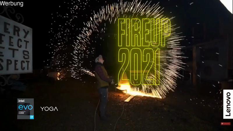 Fire Up 2021 - #ForAllOfUsFridays Lenovo/Intel