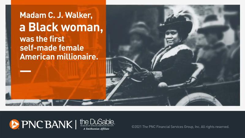 PNC Bank Black History Month - Madam C.J. Walker
